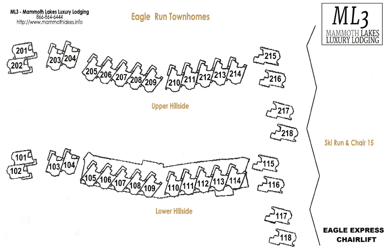 eagle run townhome map
