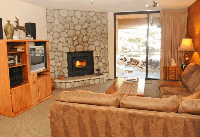 The Bridges Townhomes interior in Mammoth Lakes