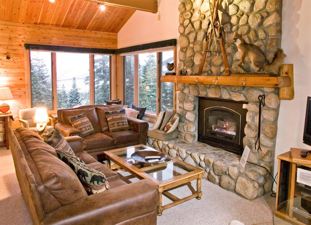 Bridges Townhomes interiors in Mammoth Lakes